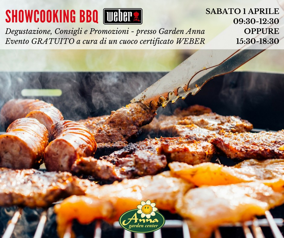 Showcooking BBQ Weber - aprile 2017